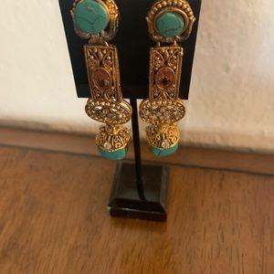Long style earrings